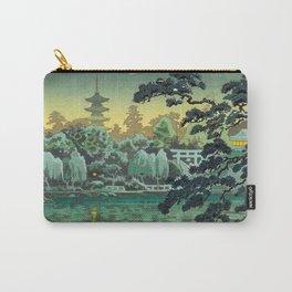 Tsuchiya Koitsu - Ueno Shinobazu Pond - Japanese Vintage Woodblock Painting Carry-All Pouch
