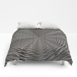 Chrome Tunnel Comforters