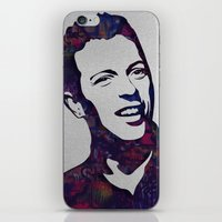 coldplay iPhone & iPod Skins featuring chris martin by ketizoloto