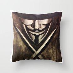 VENDETTA Throw Pillow