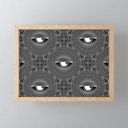 Seamless Eyes Variant Framed Mini Art Print