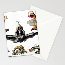 Mythical Creatures Stationery Cards