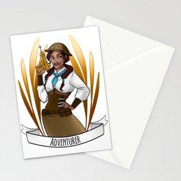 Steampunk Occupation Series: Adventurer Stationery Cards