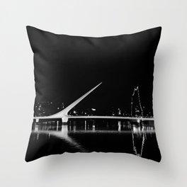 Puente de la Mujer Throw Pillow