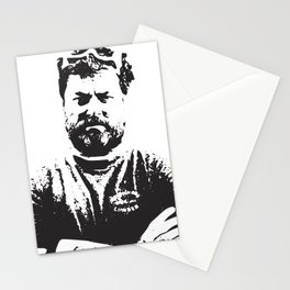Ron Swanson - woodworker quote about the newborn Stationery Cards