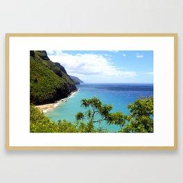 Kauai Coast Framed Art Print
