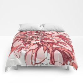 Dhalia Flower Comforters