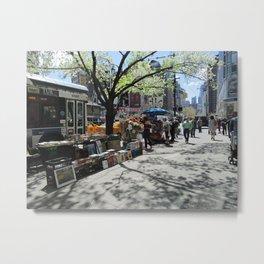 NYC Street Scene Metal Print