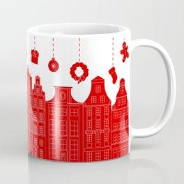 Very Merry Christmas Street Coffee Mug