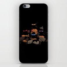T. U. R. T. L. E. S. iPhone & iPod Skin