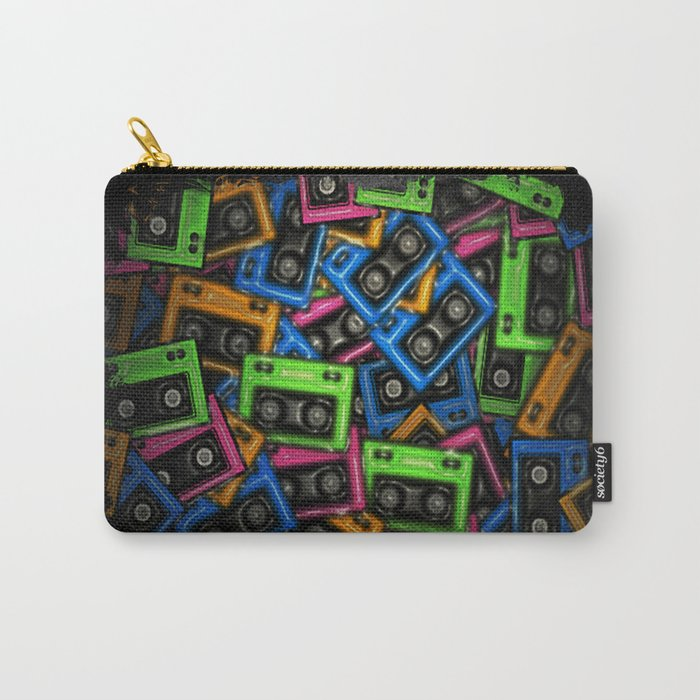 Cassete Carry-All Pouch