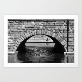 Puente de Toledo Art Print