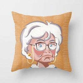 Golden Girls - Sophia Petrillo Throw Pillow