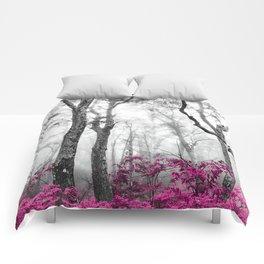 Princess Pink Forest Garden Comforters