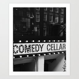 New York Comedy Cellar Art Print