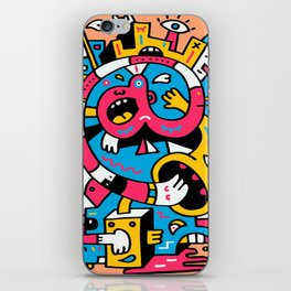 At The Third Stroke iPhone Skin