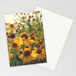 Yellow Bee Stationery Cards