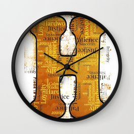 """Proud to be """"H"""" Wall Clock"""