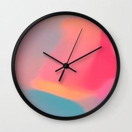 Diffuse colour Wall Clock