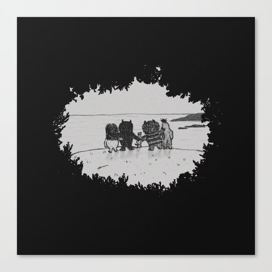 Surrounded By Your Friends Canvas Print