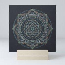 Gateway to the Sahasrara Mandala Mini Art Print