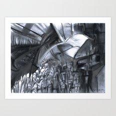 The City & The City Art Print