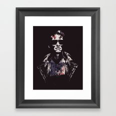 Come with me if you want to live Framed Art Print