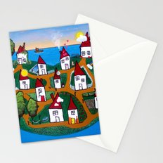 Dream House Island Stationery Cards