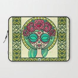 Sugar Skull Girl Laptop Sleeve