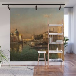 Venice Doge Palace and St. Marks landscape painting by Antoine Bouvard Wall Mural
