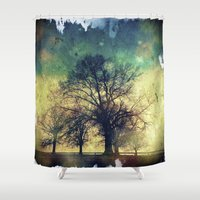twilight Shower Curtains featuring Twilight by Brent Griffith Art