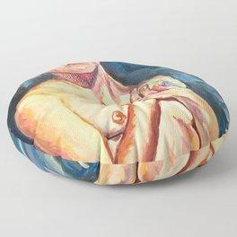 My Gioconda Floor Pillow