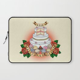 There's Always Time For Cake Laptop Sleeve