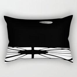 Far Away And Gone Rectangular Pillow