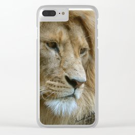 The Lord Of Africa Clear iPhone Case
