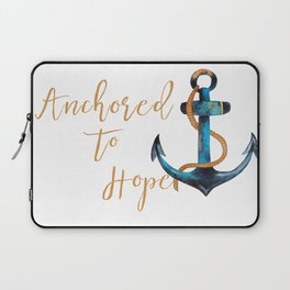 Anchored to Hope Laptop Sleeve