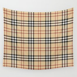 Tartan Plaid B Wall Tapestry