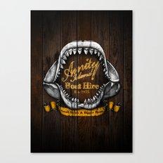 Amity Island Boat Hire Canvas Print