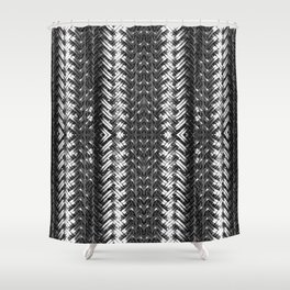Metal Cord Shower Curtain