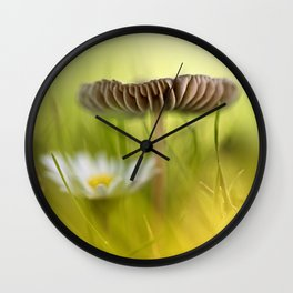 Glad it is to cold to play soccer... Wall Clock
