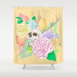 Fancy Grave Shower Curtain