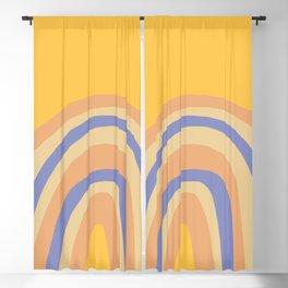 Autumn Rainbow Blackout Curtain