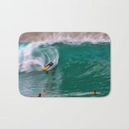 Backside Surfing at the Wedge Bath Mat