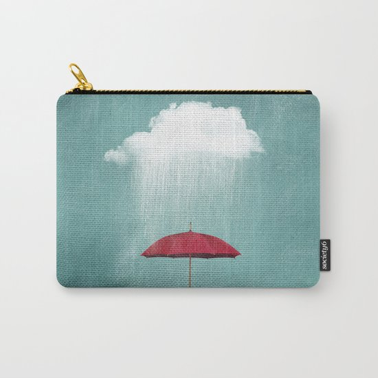 WHITE RAIN Carry-All Pouch