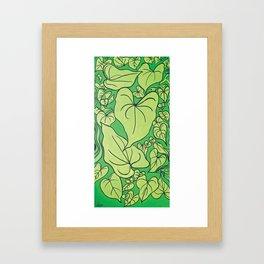 Ace of Hearts Framed Art Print