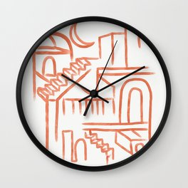 Sicilian Night Wall Clock