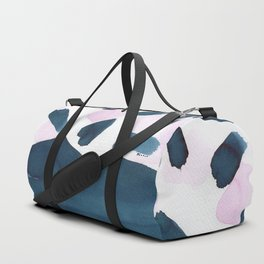 Indigo and pink abstract 101 Duffle Bag