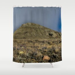 I Like Big Buttes and I Cannot Lie Shower Curtain
