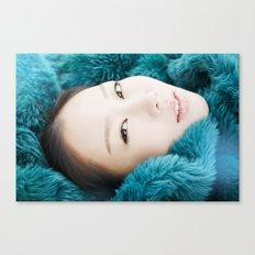 korean beauty Canvas Print