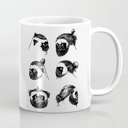Pug Buns Coffee Mug